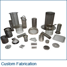 Custom Fabricated Wire Mesh Products