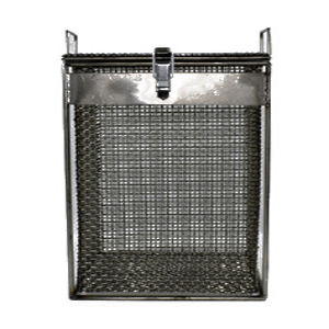 Wire Mesh basket with hinged lid