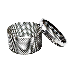 wire mesh cylinder with lid